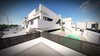 New Luxurious Complex of 15 Bungalows with Community Pool in Lo Pagan,(San Pedro del Pinatar),Murcia