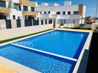 Triplex Townhouse in New Residential with Community Pool in Villamartín, Orihuela Costa